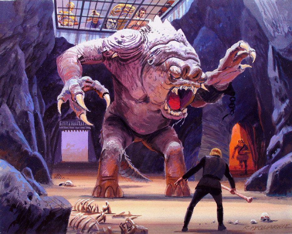 Rancor Chamber: Ralph McQuarrie