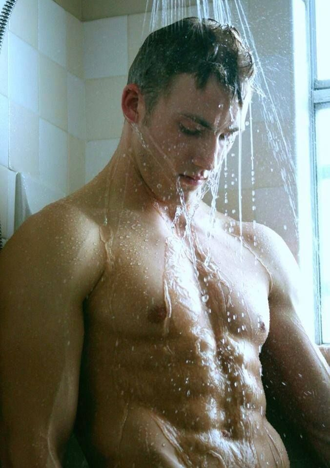 Nude Men In Shower Stock Photos, Pictures & Royalty-Free