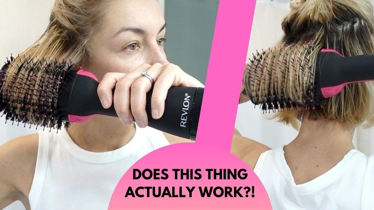 Does It Work Revlon One Step Hair Dryer Review Tutorial Youtube Revlon Hair Dryer Revlon Hair Dryer Brush Hot Tools Hair Dryer