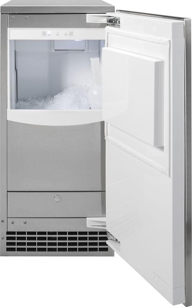 Ge 15 Ice Maker Nugget Ice Maker Outdoor Kitchen Design Monogram Appliances