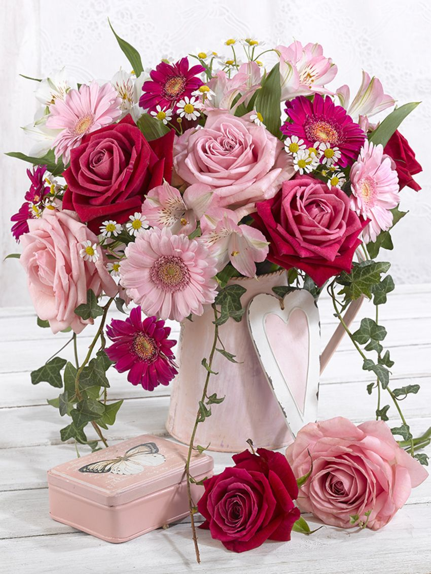 Цветы картинки с днем