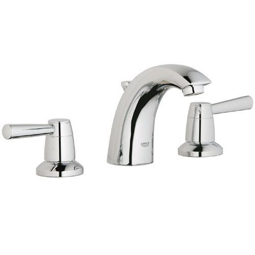 Beau Grohe 20 121 Arden Widespread Bathroom Faucet With SilkMove And WaterCare  Technologies   Includes Metal Pop
