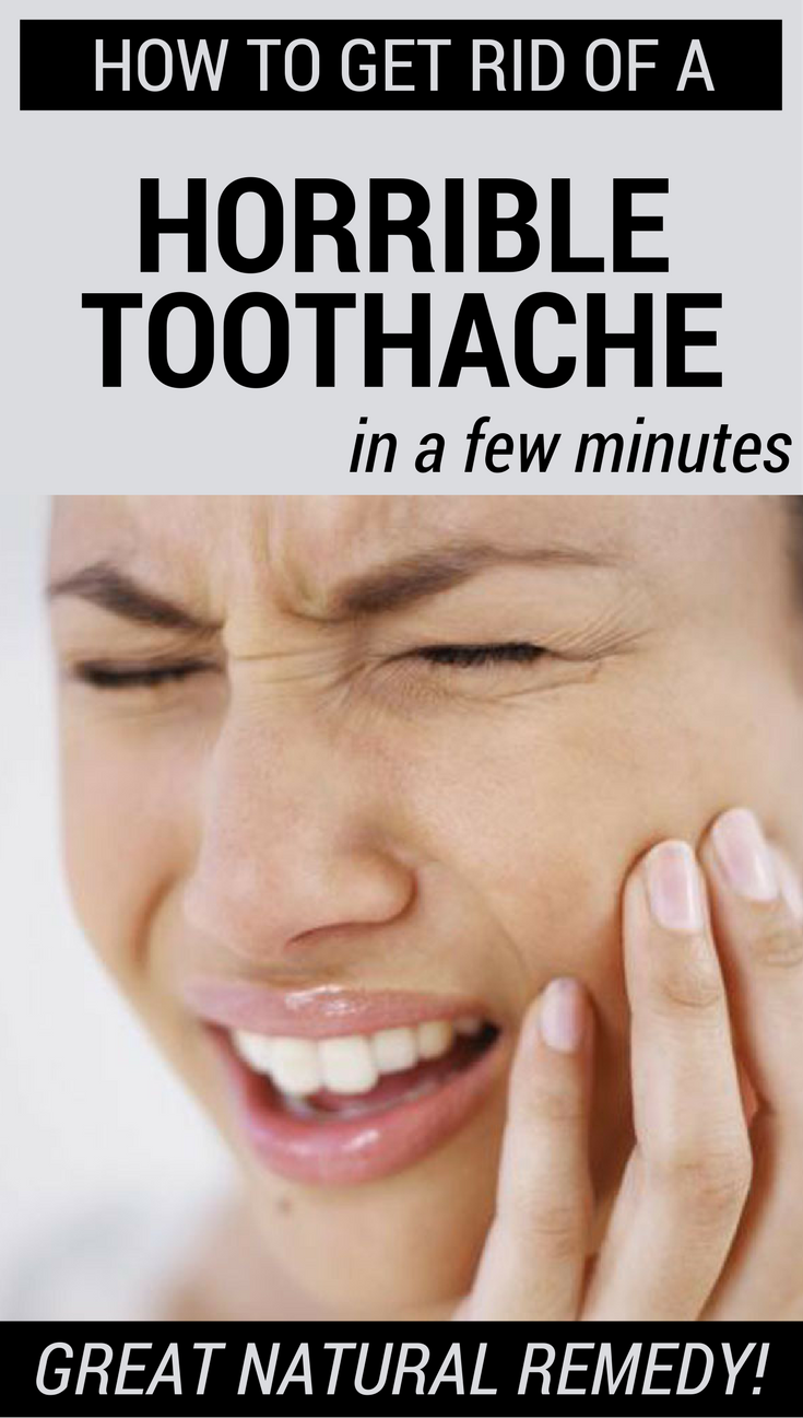 How To Get Rid Of A Horrible Toothache In A Few Minutes  Moving
