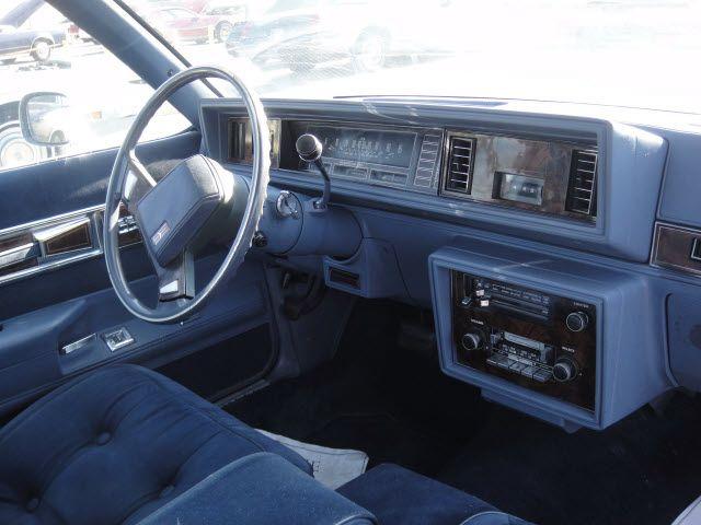 My First Car Interior Shot 1983 Oldsmobile Cutlass Supreme Childhood Chevy