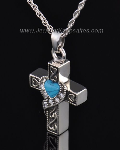 22++ Sterling silver cross cremation jewelry information