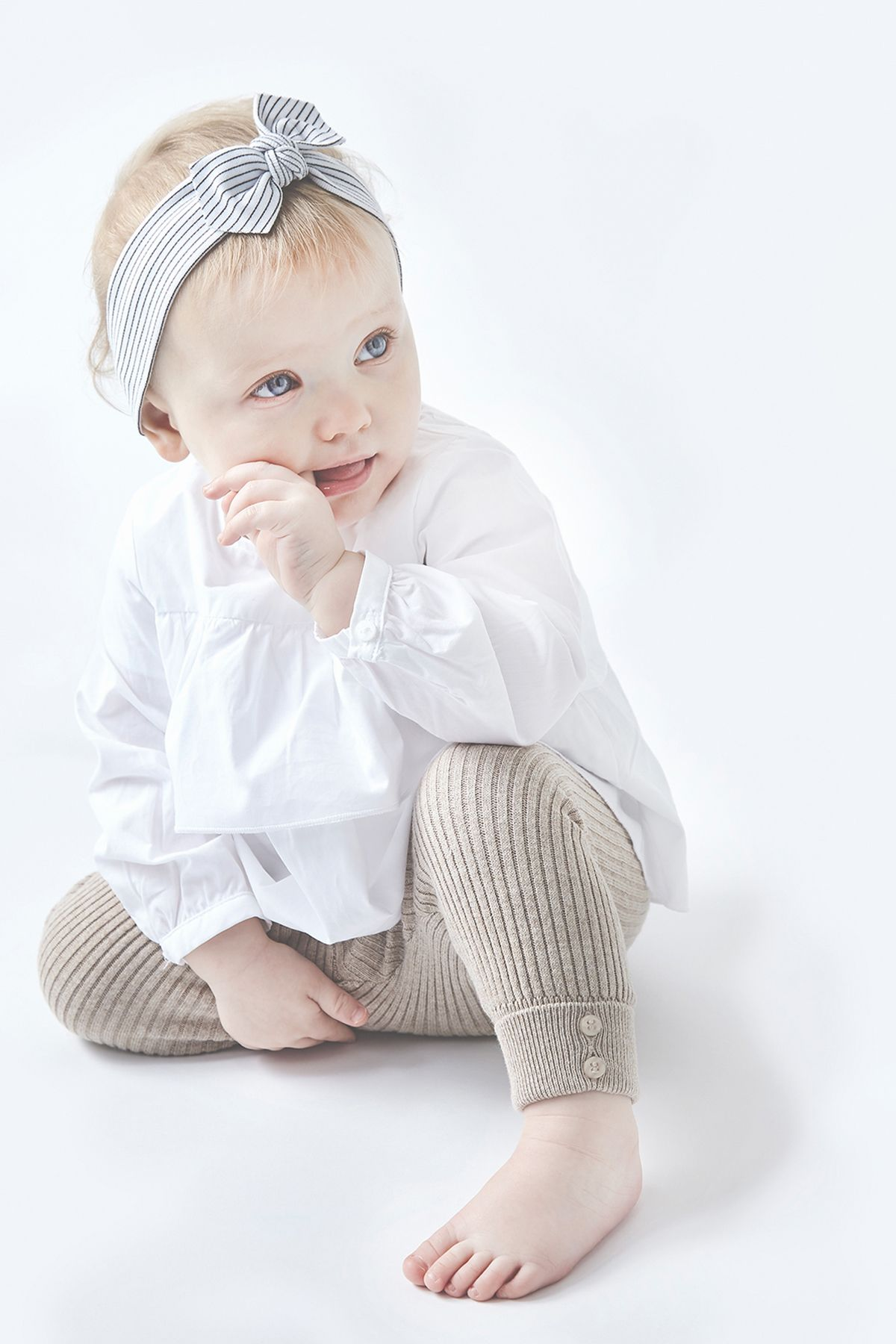 Set her apart from all the rest with our 100% Organic Stretch Cotton Baby  Headbands 08d3bbad16f