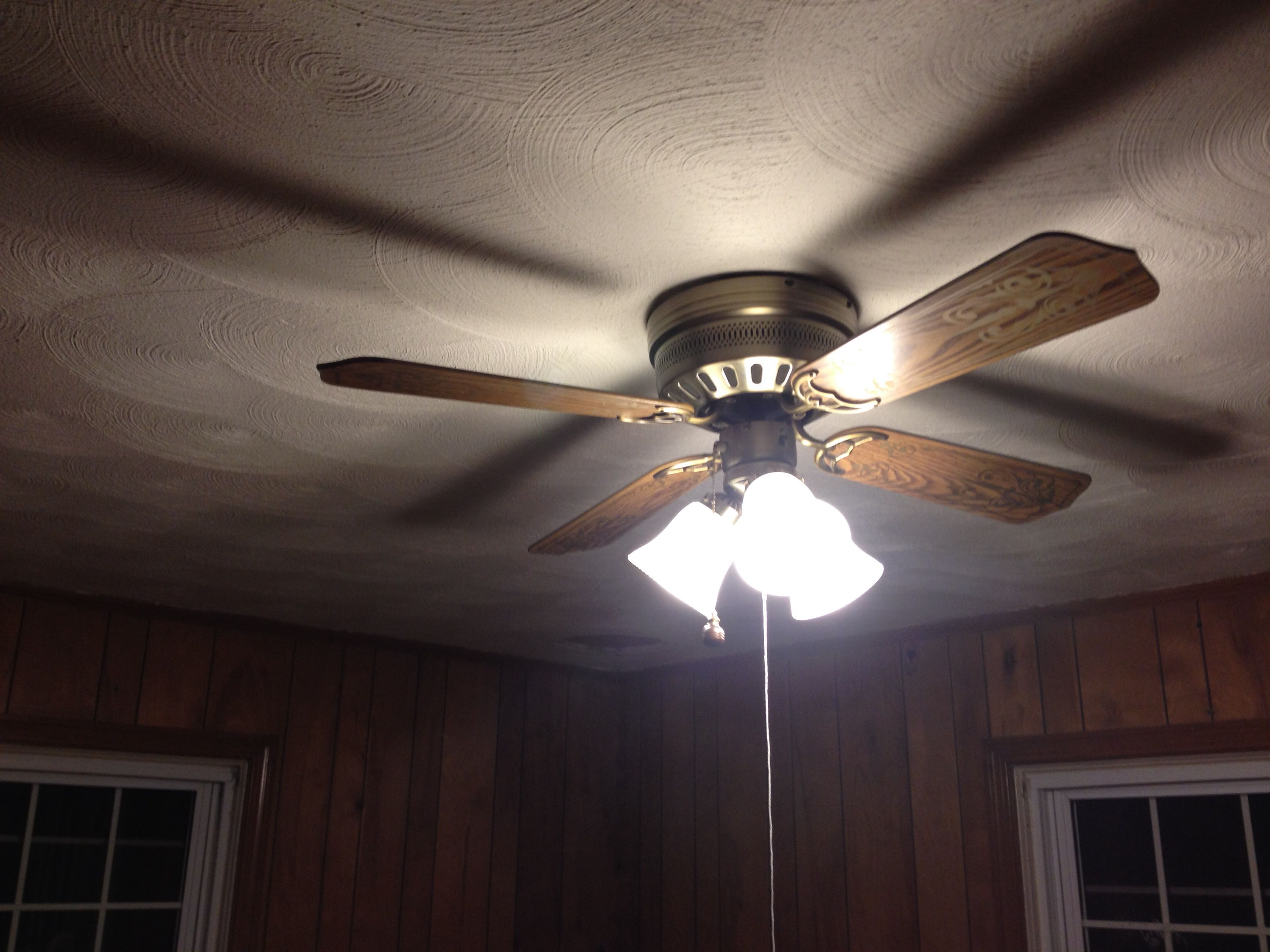 Put Up My First Ceiling Fan Light Kit Yip Our