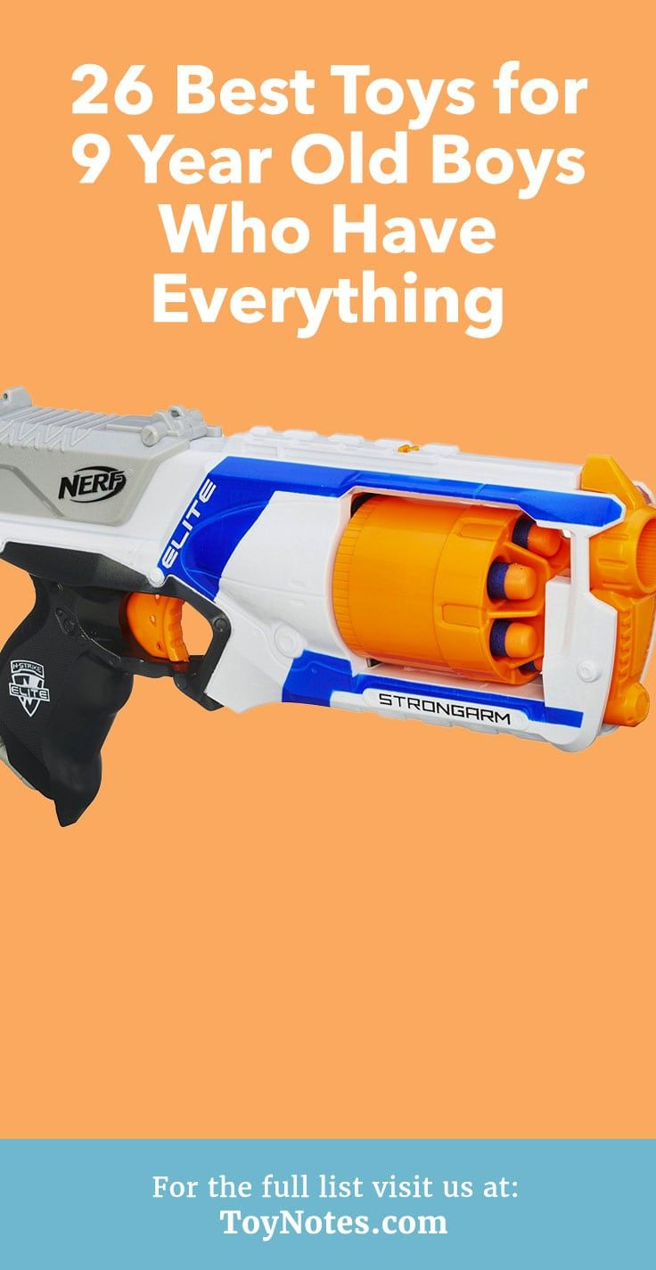 26 Best Toys For 9 Year Old Boys Who Have Everything