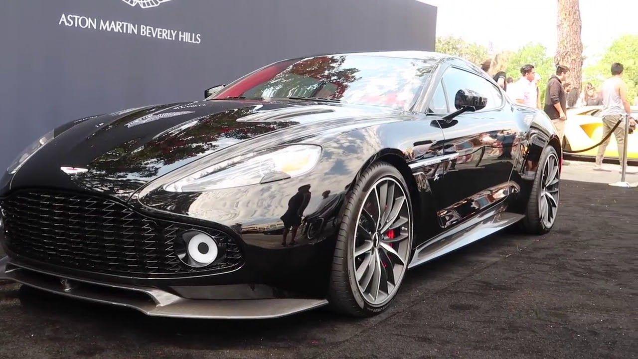 2019 Aston Martin Vanquish Zagato New Sports Design Aston Martin