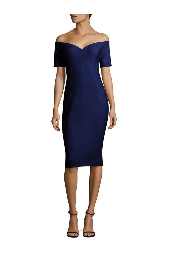 4f8471c95658 Compare and shop from fashion stores for CINQ À SEPT Birch Off-The-Shoulder  Dress