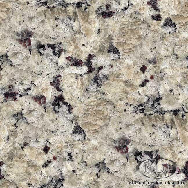 Ouro Brazil Granite Kitchen: Giallo Vermont Granite (Kitchen-Design-Ideas.org