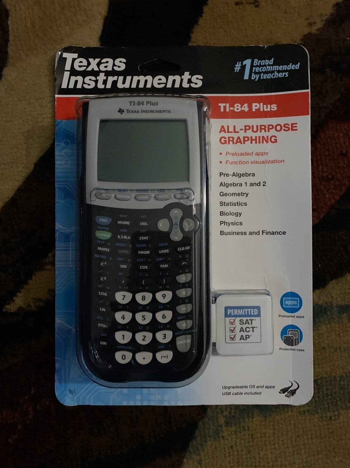 Brand New Ti 84 Plus Graphing Calculator Free Shipping