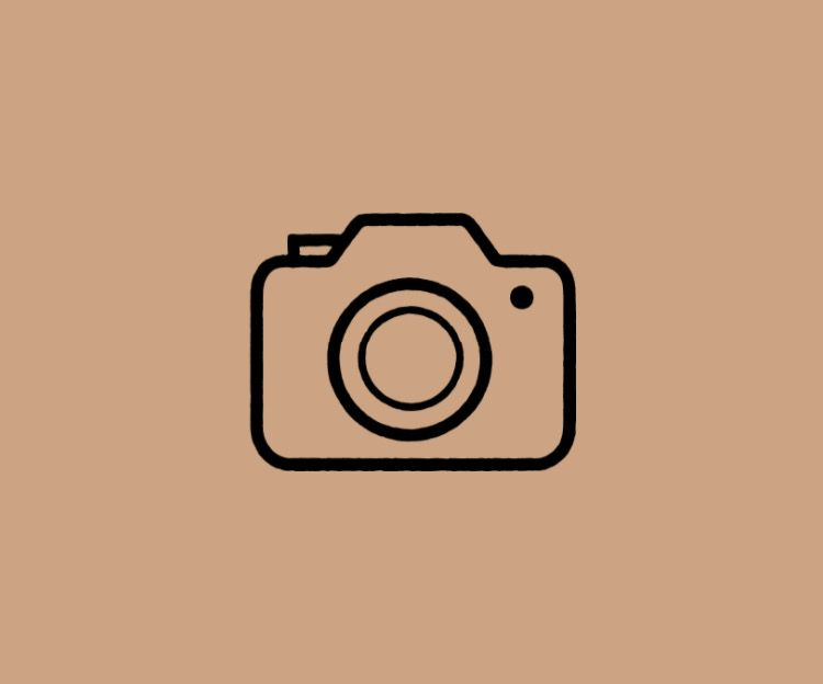 Light Brown Beige Camera App Logo Icon Iphone Wallpaper App App Icon Iphone Design