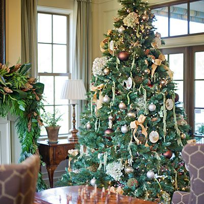 Idea House Christmas Decorations Southern living, Christmas tree - southern living christmas decorations