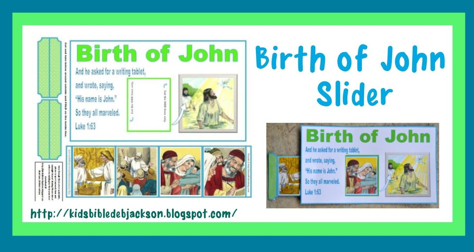 Birth Of John The Baptist With Images