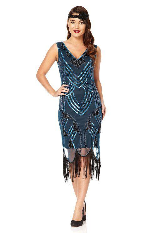 Vintage Fringe Dress