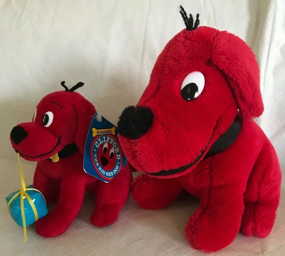 Details About Scholastic Clifford The Big Red Dog W Cowboy Hat 6