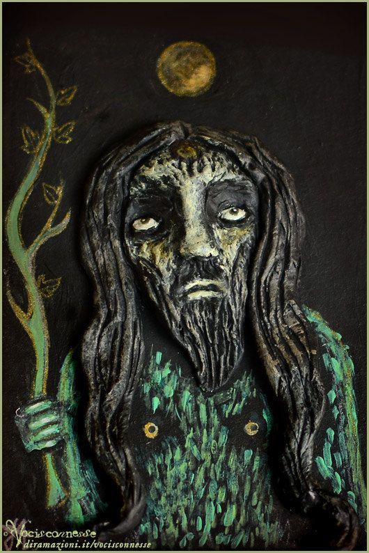 Wild Man Wilde Mann  art by Vocisconnesse on etsy