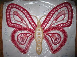 РУМЫНСКОЕ КРУЖЕВО... МАСТЕР-КЛАСС... Процесс вязания бабочки.... Комментарии : Дневники на КП