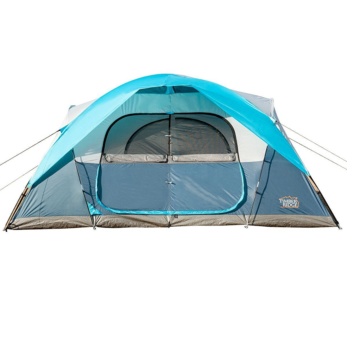 Timber Ridge Large Family Tent for C&ing with Carry Bag 2 Rooms u003eu003eu003e  sc 1 st  Pinterest & Timber Ridge Large Family Tent for Camping with Carry Bag 2 Rooms ...