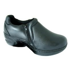 3963f2a5d78 Shop for Women s Genuine Grip Footwear Slip-Resistant Slip-on Zipper Black.  Get free delivery at Overstock.com - Your Online Shoes Outlet Store!