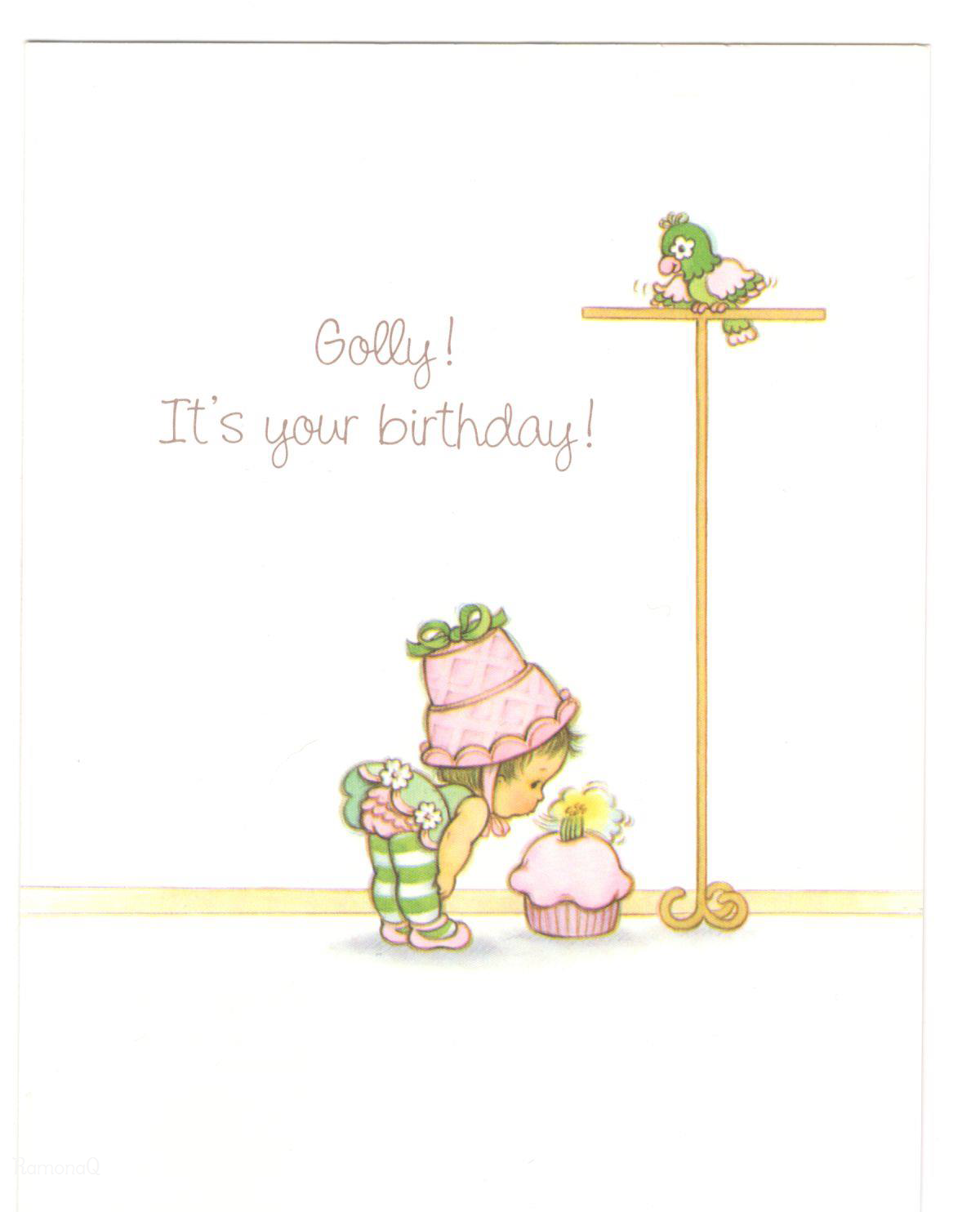 Vintage kenner american greetings strawberry shortcake babies vintage kenner american greetings strawberry shortcake babies baby parfait parrot lime blowing out birthday greetingsbirthday cardsbirthday kristyandbryce Images