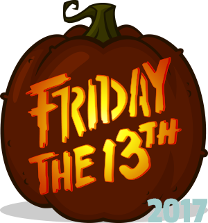 Friday The 13th Logo Pumpkin Pattern Pumpkin Carving Halloween Pumpkin Stencils Pumpkin Pattern