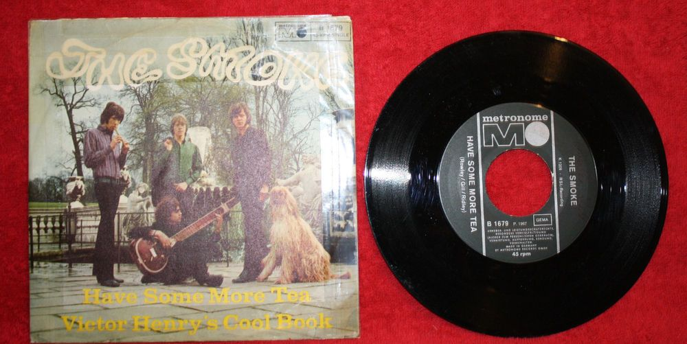 THE SMOKE - VICTOR HENRY`S COOL BOOK + HAVE SOME MORE TEA 7  VINYL