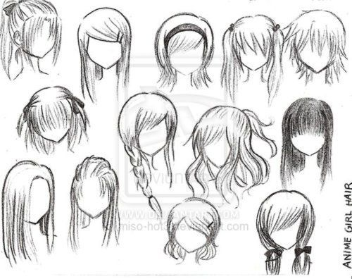 Braided Hair Drawing Google Search Anime Character Drawing Manga Hair Cartoon Hair
