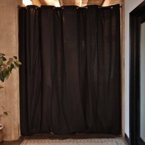 Found It At Wayfair Fabric Room Divider Curtain 96 Tall X 120