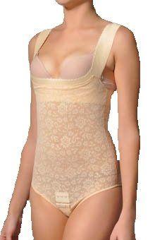 f67936d1c4 Amazon.com  Rago Women s Extra Firm Perky Lift Breast Shaper Bodysuit   Clothing