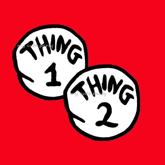 photo about Thing 1 and Thing 2 Printable Iron on Transfer identified as Point 1 Point 2,printables,Iron upon move,down load,dr