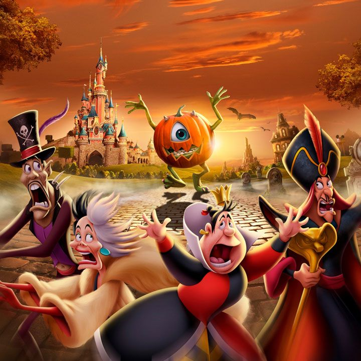 Halloween Disneyland Paris Disney Disney Halloween Disneyland