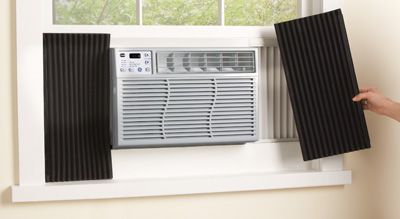 Set Of 2 Window Air Conditioner Insulator Panels Window Air