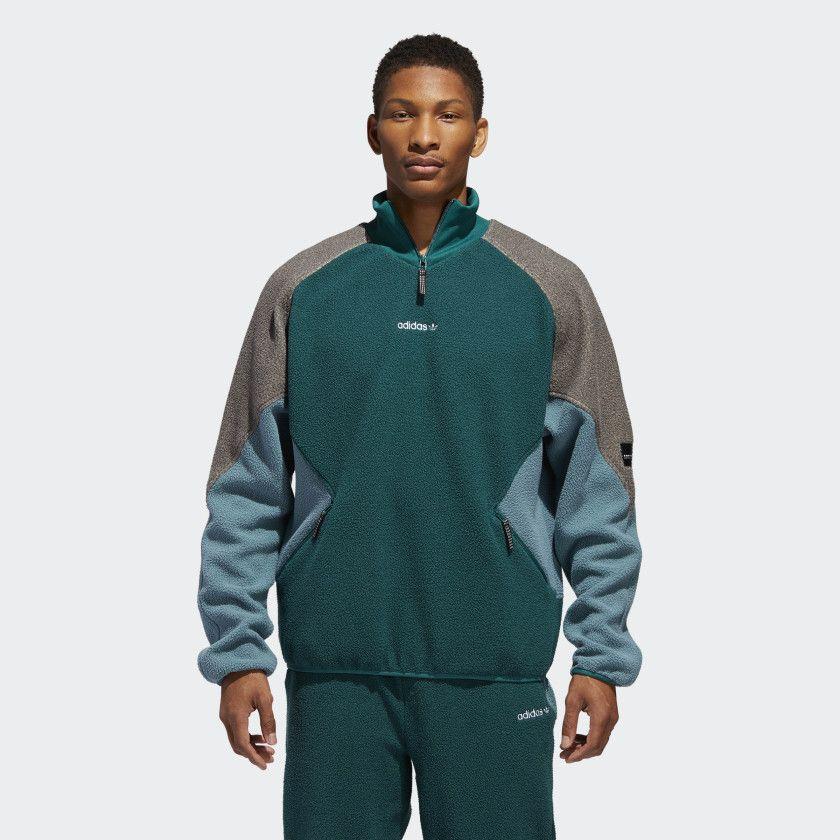 EQT Polar Jacket Noble Green DH5194 | Jackets, Mens jackets