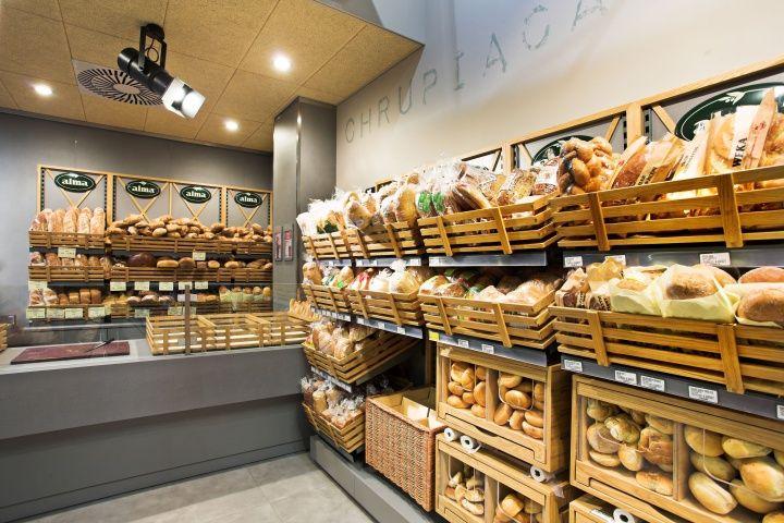 Alma Grocery By Moco Locco Krakow Poland Store Design Bakery