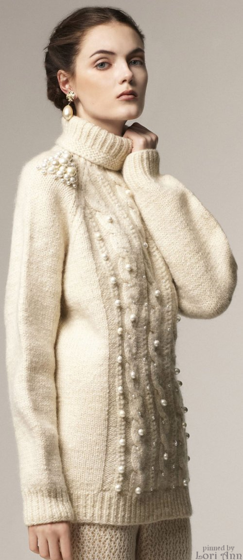 3a7bc494c8 A La Russe Fall 2013 RTW Thick Sweaters