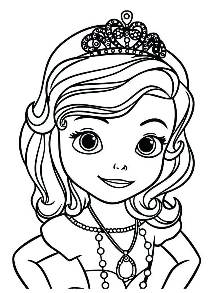 Free Coloring Pages Princess Sofia Free The Following Is Our Collection Of Cute P In 2020 Disney Princess Coloring Pages Disney Princess Colors Mermaid Coloring Pages