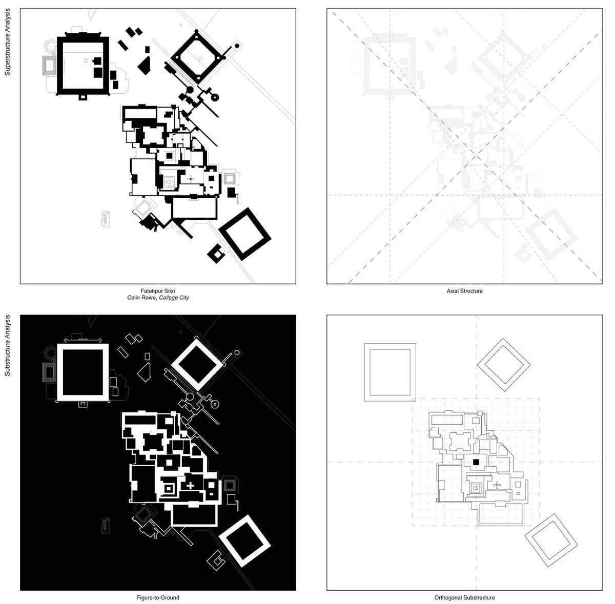 ARCHIPELAGOS: Ungers vs. Rowe | Features | Archinect