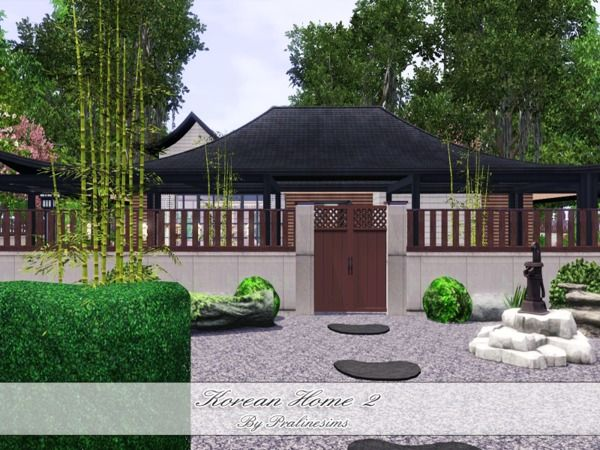 Korean Home 2 by Pralinesims - Sims 3 Downloads CC Caboodle Sims 3 - new sims 3 blueprint mode