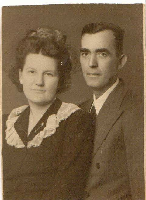 Lillian Houston and Earnest Holcomb