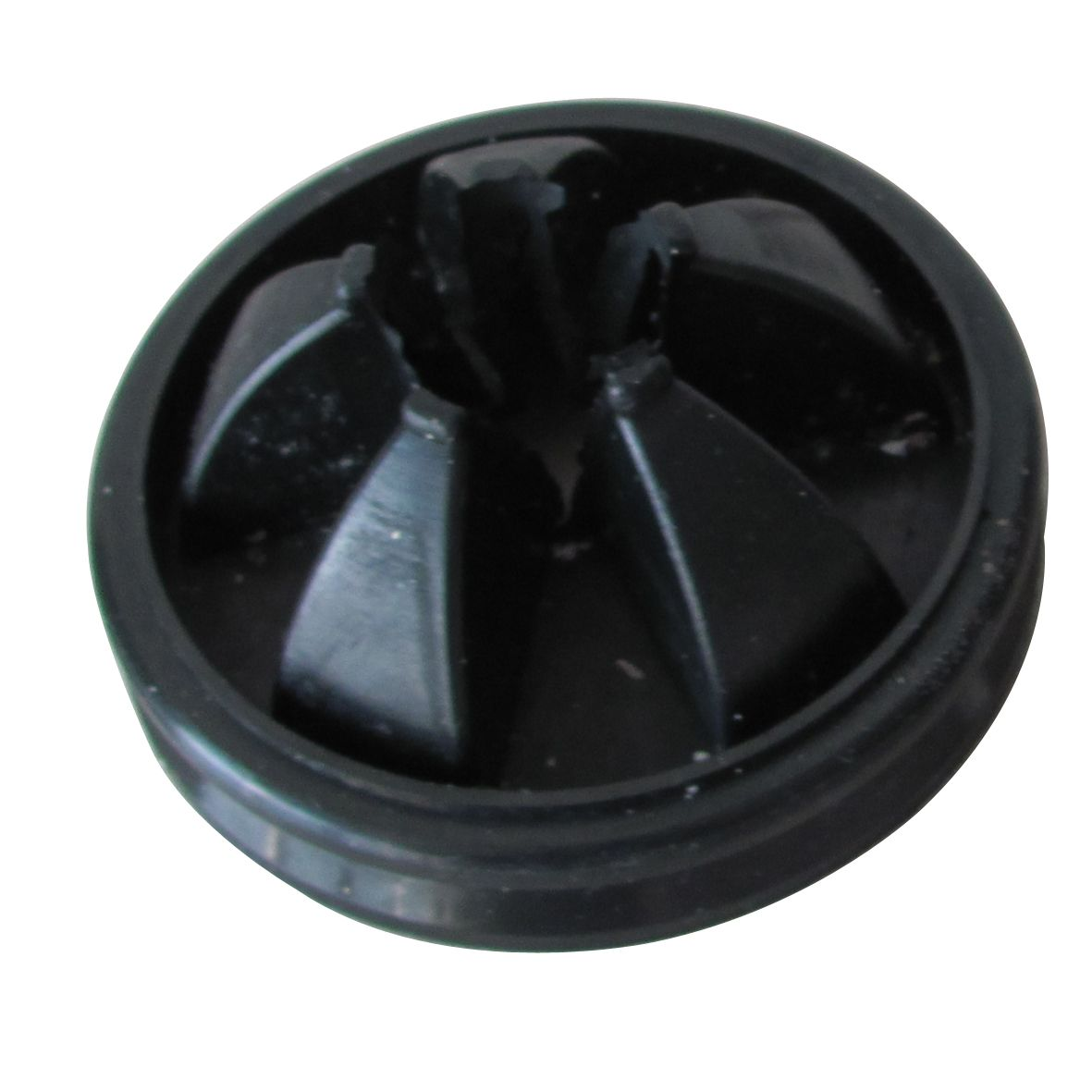 Rubber replacement splash guard for our disposers