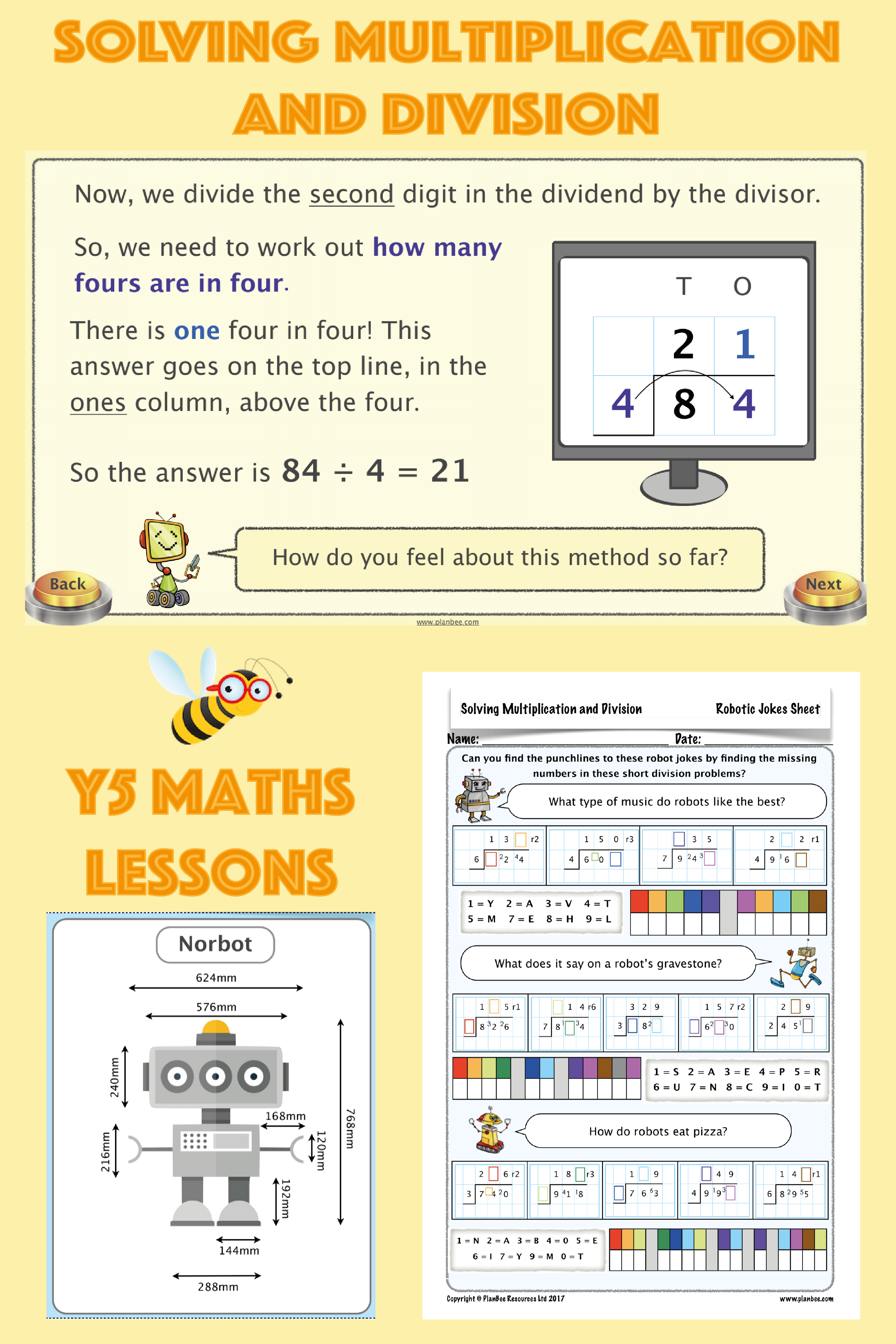 Solving Multiplication And Division