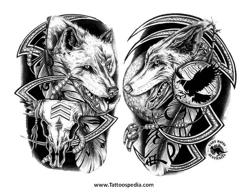 Native American Tattoo Ideas For Men 3 Native American Tattoos Native American Tattoo Native American Wolf