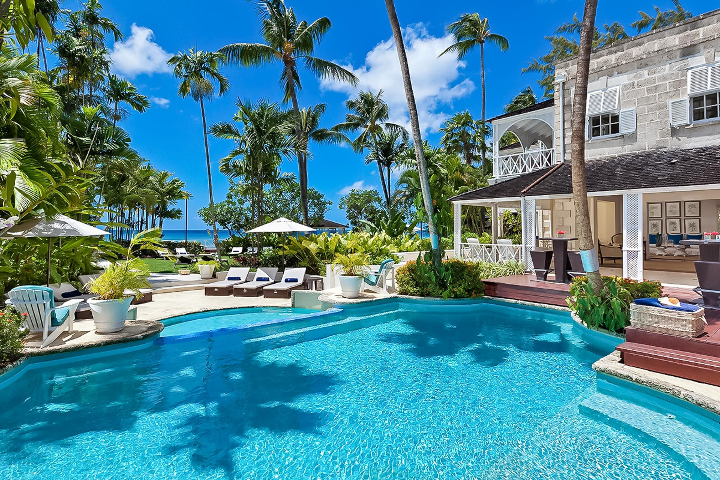 Check out this amazing Luxury Retreats beach property in Barbados