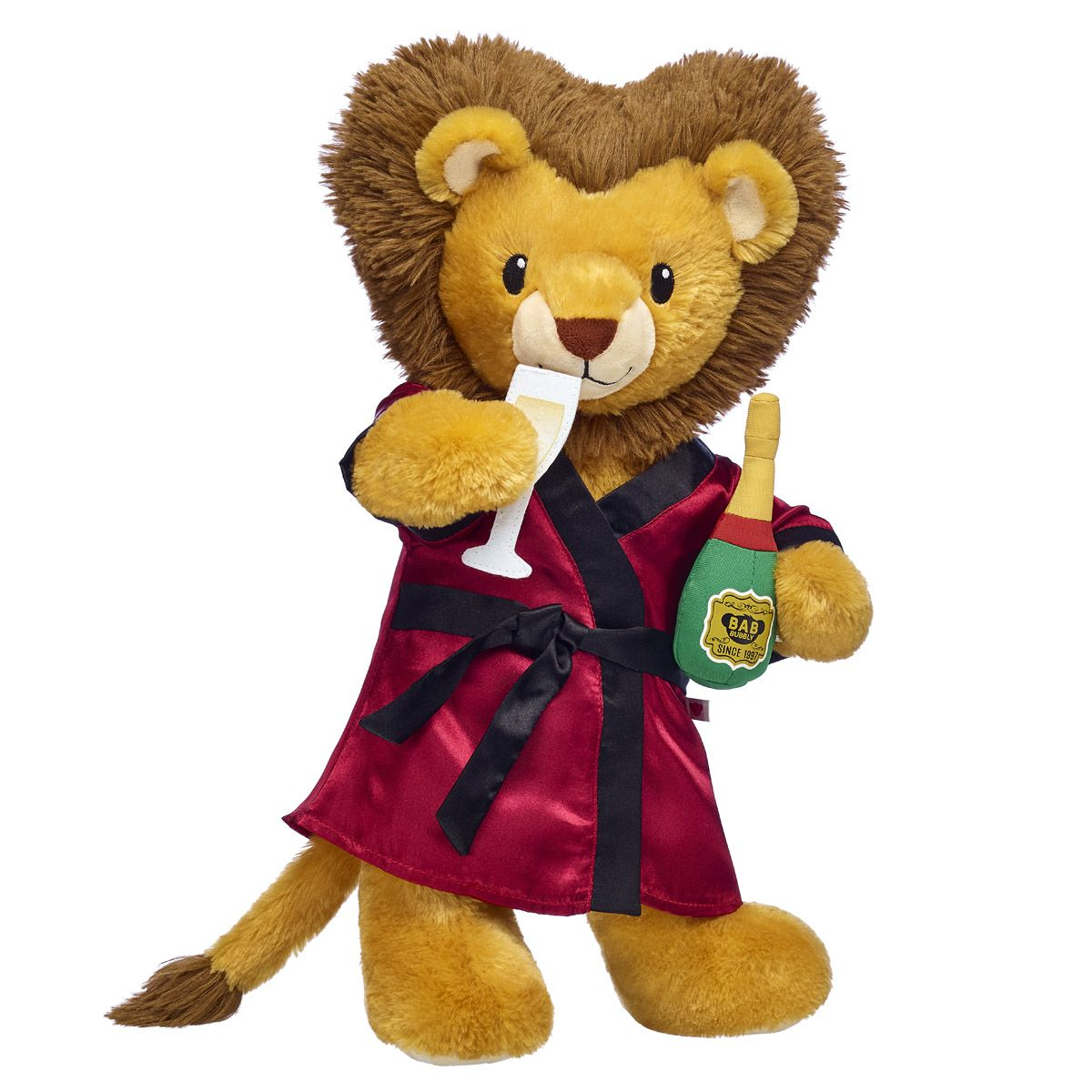 10465ade1 Online Exclusive Lovable Lion Champagne Gift Bundle | Build-A-Bear Workshop