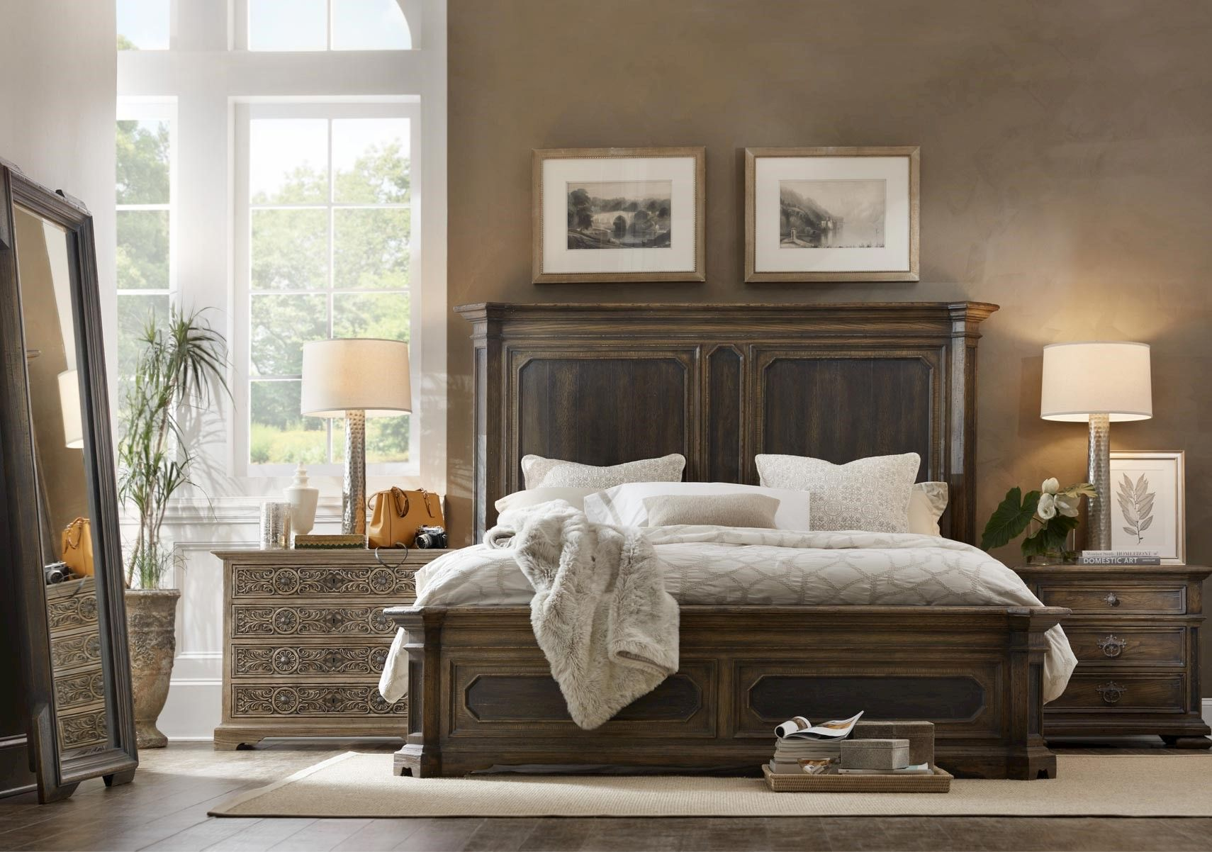 Lacks Hill Country 4 Pc Queen Bedroom Set Furniture Bedroom Furniture Design Country Bedroom