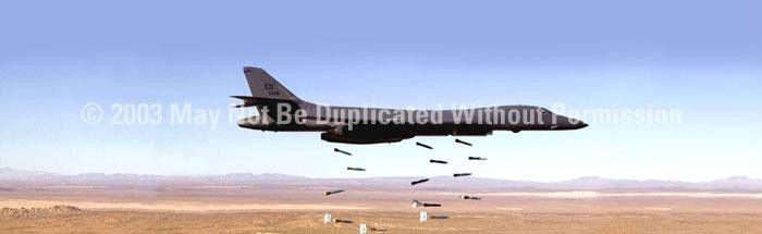 Window Graphic - 20x65 B1B Bomber