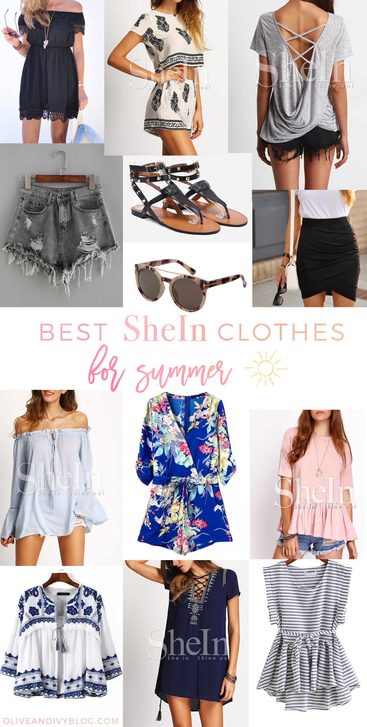 shein outfits summer 2020 dress