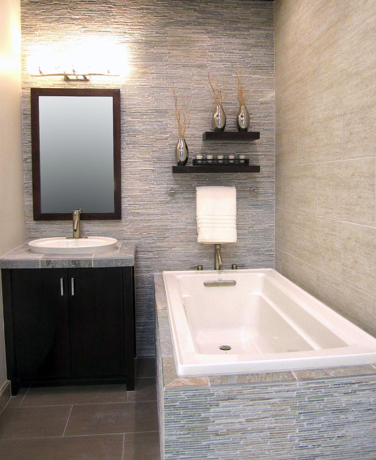 Floor to Ceiling tile. Bathroom Tile